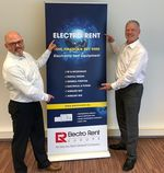 André Vandenberk, General Manager di Electro Rent e Peter Collingwood, Chief Executive Officer di Microlease