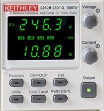Display alimentatore Keithley Serie 2260B