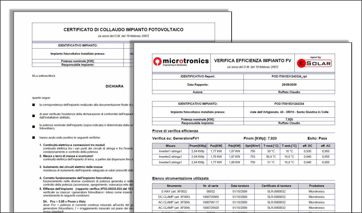 Aerazione forzata collaudo impianto elettrico - Certificato impianto elettrico a norma ...