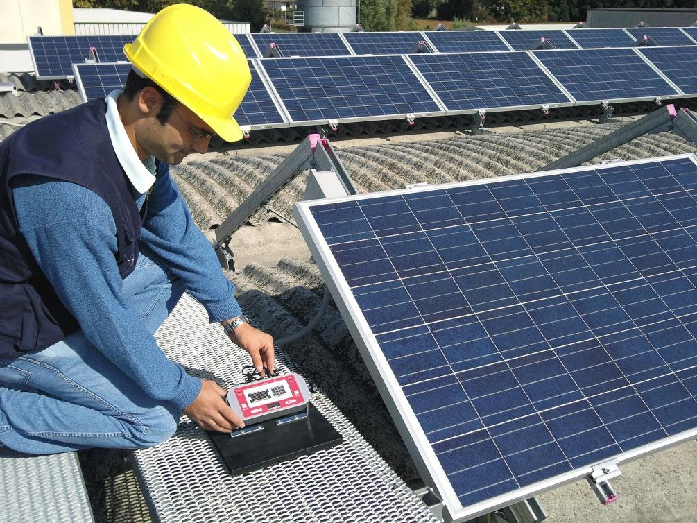 Schema Cablaggio Pannelli Fotovoltaici : Collaudo impianti fotovoltaici